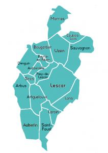 territoire d'action ADMR de Lescar
