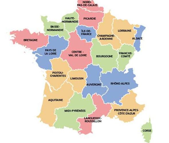 carte de la reforme territoriale